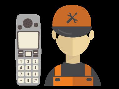 نمایندگی تعمیرات تلفن رومیزی (بی سیم )